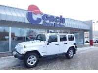 2015 Jeep Wrangler Unlimited Sahara - 5 Speed A/T - 21,283 KMs