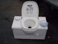 Caravan cassette toilet