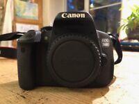 Canon 700d Body - Perfect condition