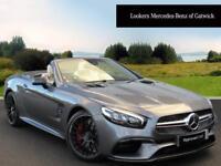 Mercedes-Benz SL AMG SL 63 (grey) 2017-12-29