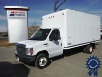 2012 Ford E-450 Moving Cube Truck - 65,514 KMs - Bucket Seats