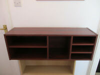 Office equipment cubby storage cabinet.