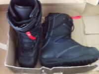 MENS SNOWBOARD BOOTS UK SIZE 7.5 NEW. APX project by Northwave - model KEVIN JONES TF LACE 3 BLACK