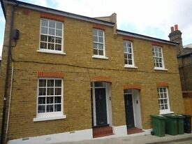 Newly refurbished 2 bedroom ground floor flat with small patio area