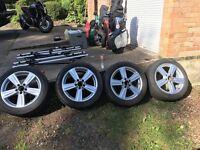 Mercedes E class winter tyres and alloys