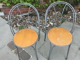 Garden or table chairs