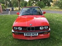 1987 BMW E30 325i CONVERTIBLE MANUAL RARE ALPINA SPEC