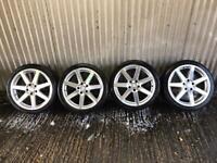"Genuine 18"" Mercedes Benz C Class Sport alloy wheels #2 - 5x112 - Will fit VW, Audi, Skoda"