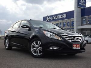 2011 Hyundai Sonata Limited | LEATHER | SUNROOF | ONLY 60K! Stratford Kitchener Area image 8