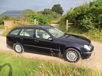 MERCEDES BENZ E 280ELEGANCE 2005 LHD DIESEL left hand drive , auto , payment in Euro excepted