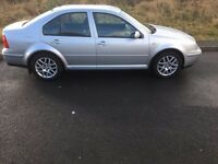 Excellent condition VW Bora Highline 1.9tdi 130 bhp in silver