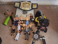 Wwe figures and other bits