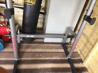 Energetics heavy duty squat rack