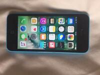 iPhone 5C Vodafone/ Lebara blue Very good condition