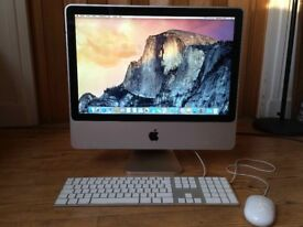 "Apple iMac 20"" Desktop Computer complete with mouse and keyboard"