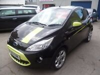 Ford KA Digital ltd,3 dr hatchback,2 previous owners,runs and drives as new,all the extras,only 48k