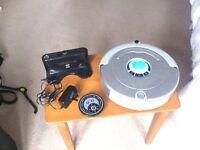 Auto robotic vacuum cleaner