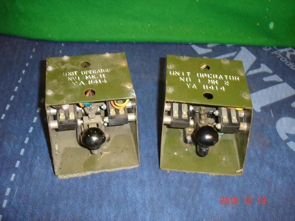 British Army Radio Morse keys TELEPHONE UNIT OPERATOR No1 MK2 Set 2 World  War x 2 | in Dartmouth, Devon | Gumtree