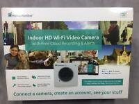 Y-cam CCTV HomeMonitor HD Pro - Wireless indoor Security Camera with Free Online Recording