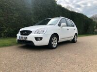 Kia Carens 2.0 CRDi LS 5dr Automatic Diesel In White - 7 Seater - Automatic - Genuine Low Mileage