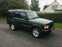 2001 Discovery td5 es auto 115k new mot and new half chassis new calipers and pads