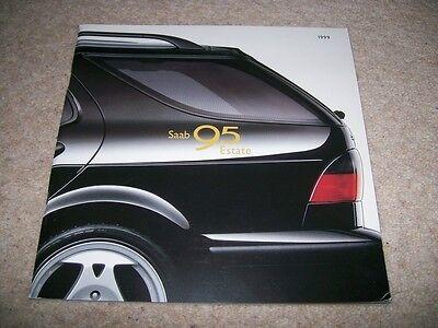 Saab 95 Estate Brochure 1999