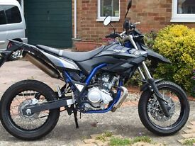 Yamaha wrx 125 as new only 2065 miles