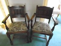 Old Charm Dining Carver Chairs