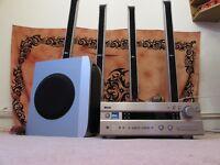 Surround speakers + Yamaha AV receiver