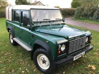 Landrover Defender 110 2.5Tdi 5 Seater Pickup with Hardtop