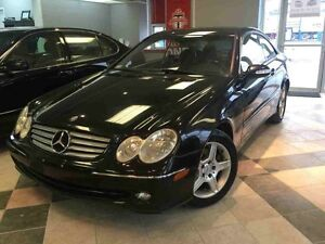 2004 Mercedes-Benz CLK V6 3.2, COUPE, LEATHER INTERIOR