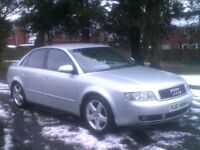 *EXCELLENT 2003 AUDI A 4 1.9TDI 130 SPORT*F.S.H.*MOTD JULY 2018*T/BELT REPLACED**BMW,VW,SAAB,VECTRA