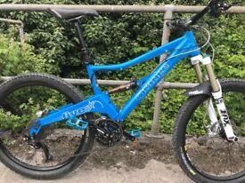 Orange 5 Pro Full Suspension Bike