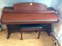 YAMAHA CLAVINOVA CLP-950 Digital Piano Full Size 88 keys includes matching stool. FREE DELIVERY