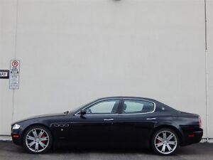 2007 Maserati Quattroporte SPORT GT IN BLACK