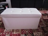 Storage Box - can be used as an ottoman