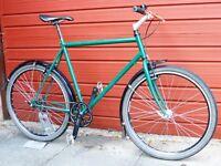 Single speed hybrid bike