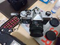 Fujica STX1 SLR camera, good condition