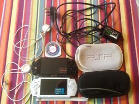 Sony PSP Bundle: PSP 1003 + PSP 2003 + Wipeout Pure + More