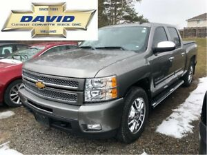 2012 Chevrolet Silverado 1500 LTZ CREW 4WD SHORT/ LEATHER/ REMOT
