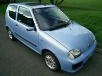 2003 FIAT SEICENTO SPORTING FULL MOT LOW INSURANCE NIPPY 50+MPG LOW MILES 66K TOP CONDITION