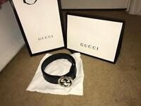 Mens Gucci belt 110cm/ 44inch RRP 215 price negotiable