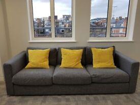 Brand New Ikea Vimle 3-Seater Sofa (*medium grey)