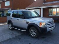 2007 07 landrover discovery 2.7 tdv6 gs 7 seater
