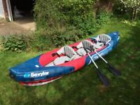 Sevylor Tahiti Plus 3 person inflatable kayak