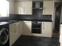 Kitchen cupboards for sale less than 2 years old 'Cooke & Lewis' Raffello High Gloss Cream £600