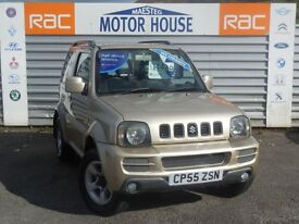 Suzuki Jimny JLX (ONLY 23000 MILES) FREE MOT'S AS LONG AS YOU OWN THE CAR!!! (beige) 2006