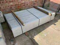 *New* Smooth Concrete Reinforced 6x1 Base Panel/ Gravel Boards