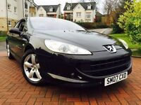 *STUNNING*2007(07)PEUGEOT 407 2.2 LIMITED EDITION WITH RED LEATHER CRUISE FACTORY FITTED SAT NAV*