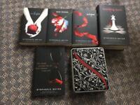 Complete Twilight Saga + Notebook Box
